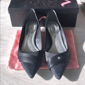 Nina black Billie kitten heels